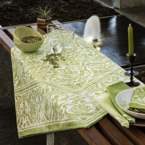 Designer Tischdecken tischwäsche tag und nacht